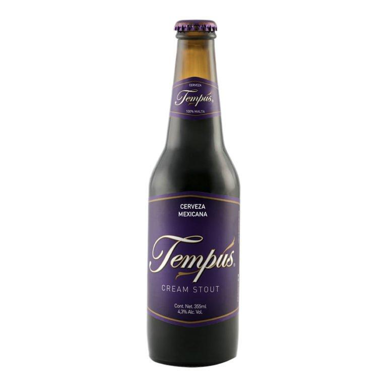 Cerveza tempus cream stout