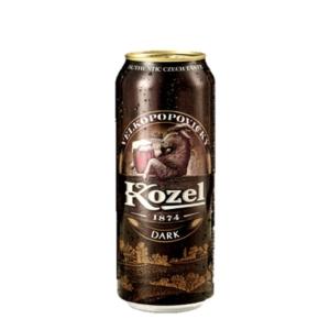 Cerveza kozel dark lata