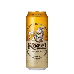 Cerveza kozel lager lata