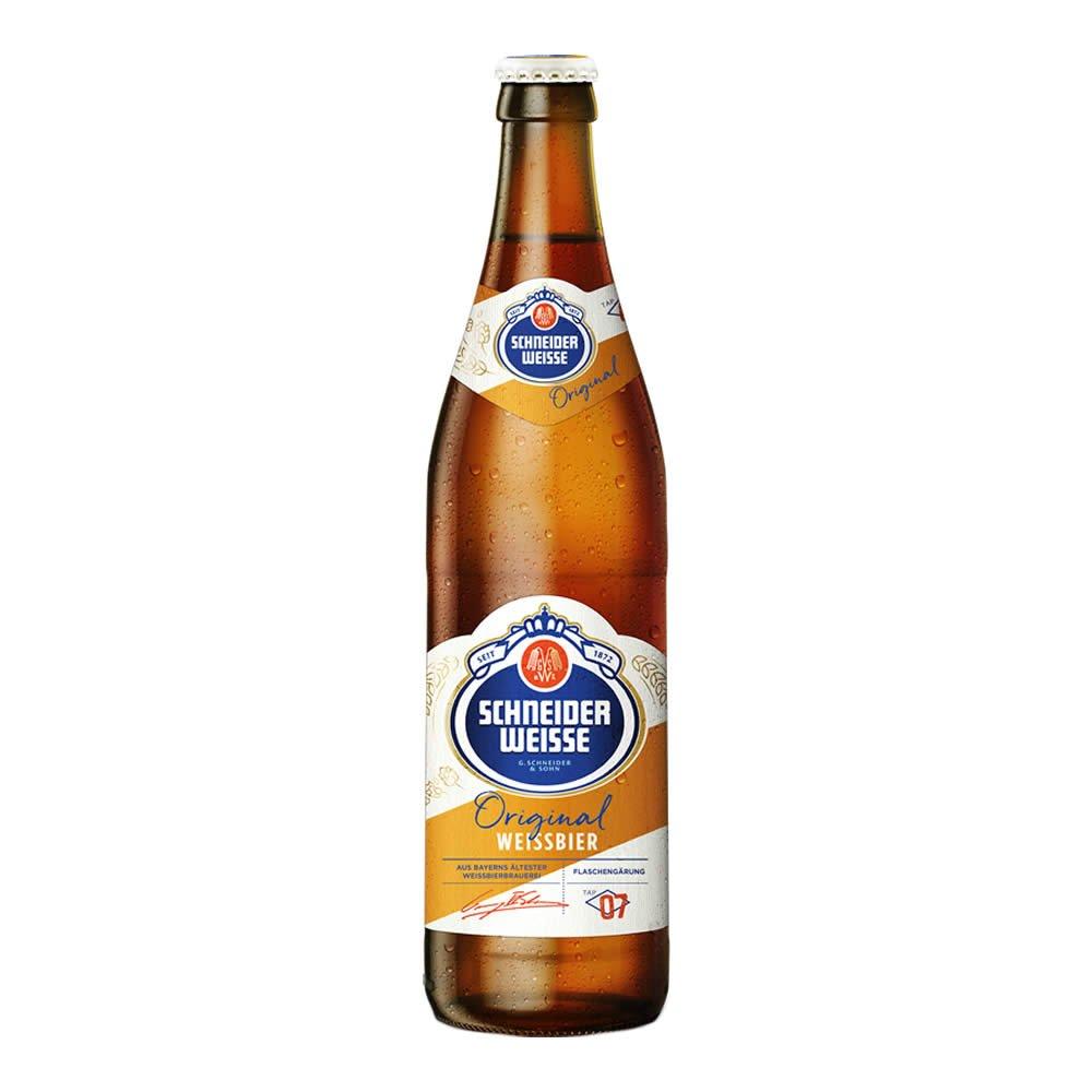 Cerveza schneider weisse tap7