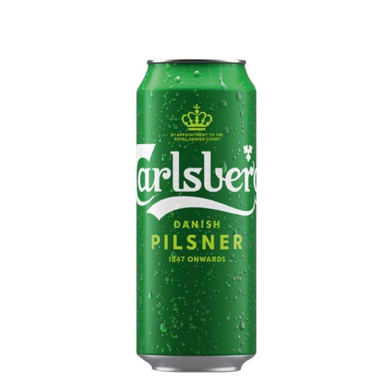 Cerveza carlsberg lata