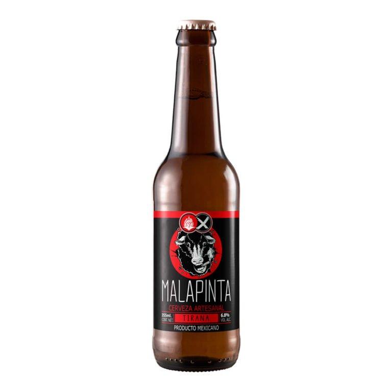 Cerveza malapinta tirana