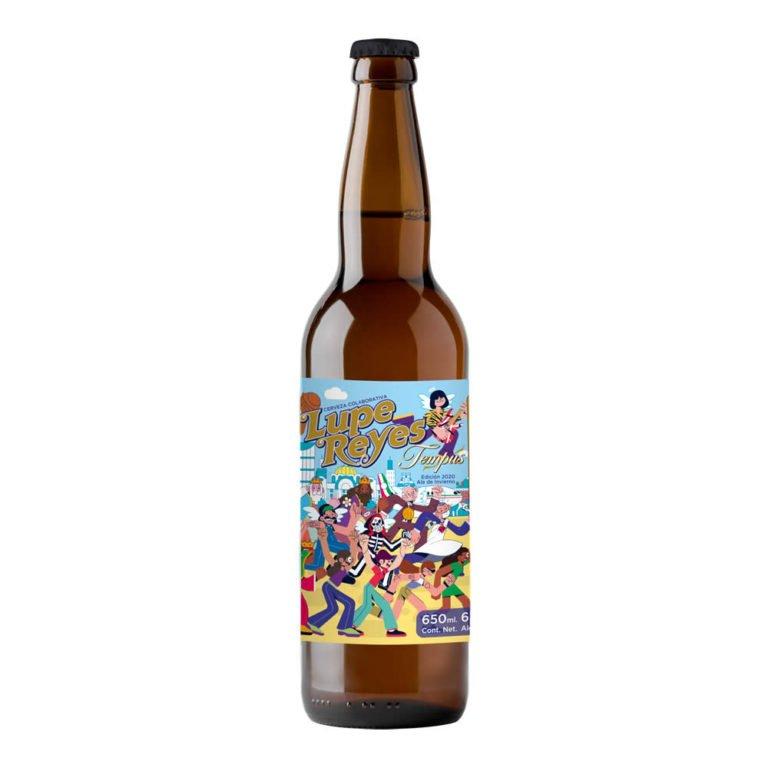 Cerveza tempus lupe reyes