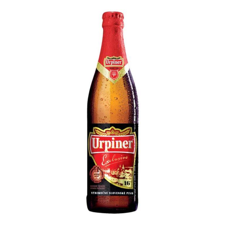 Cerveza urpiner exclusive botella