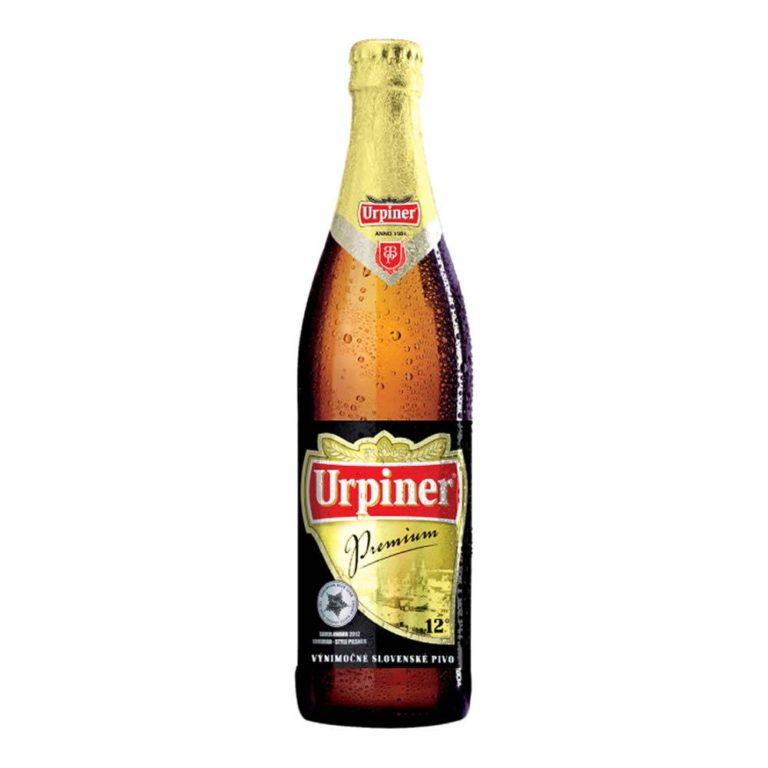 Cerveza urpiner premium botella