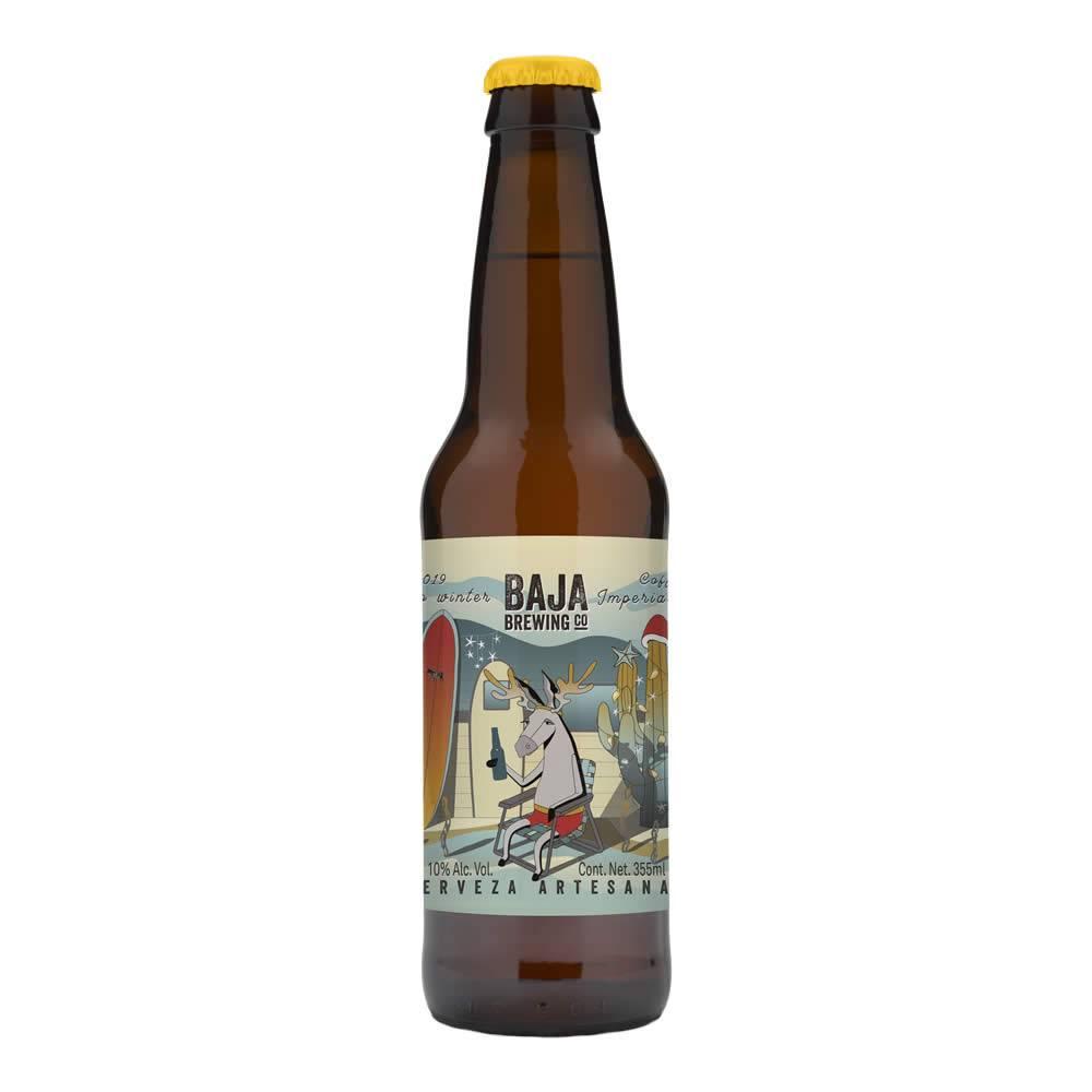Cerveza baja brewing burro winter