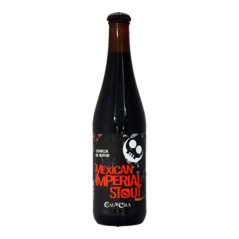 Cerveza calavera mexican imperial stout