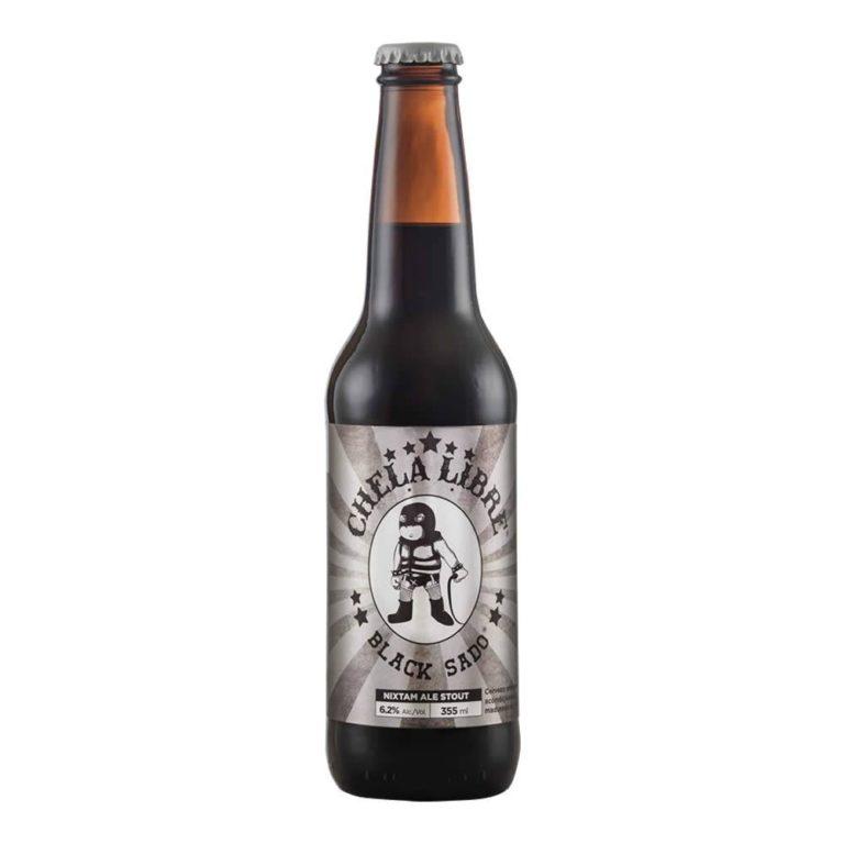Cerveza chela libre black