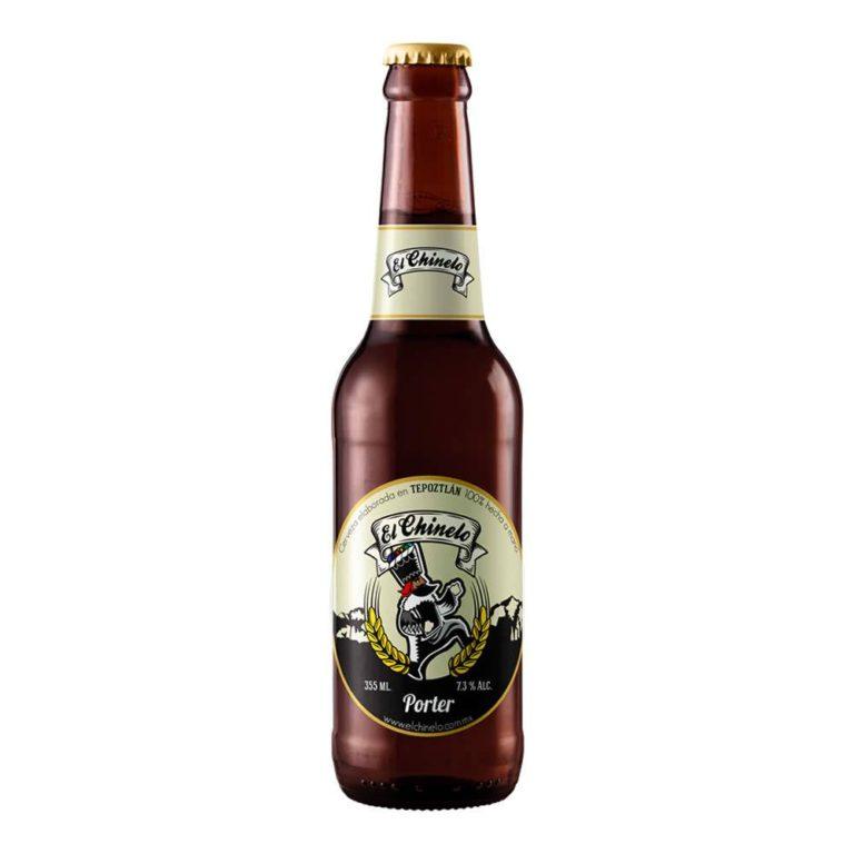 Cerveza chinelo porter
