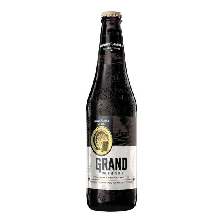 Cerveza browar amber grand imperial