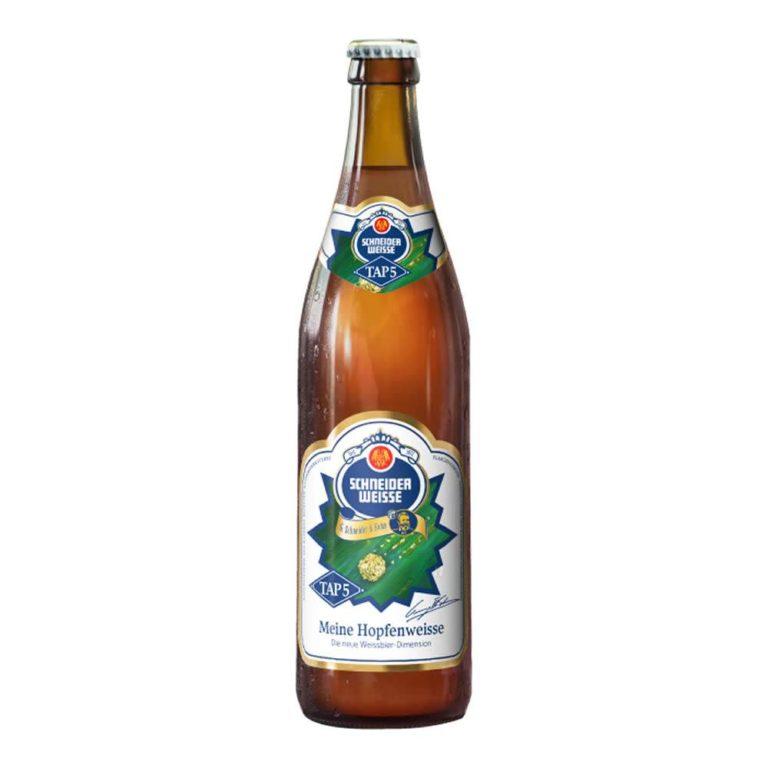 Cerveza schneider weisse tap5