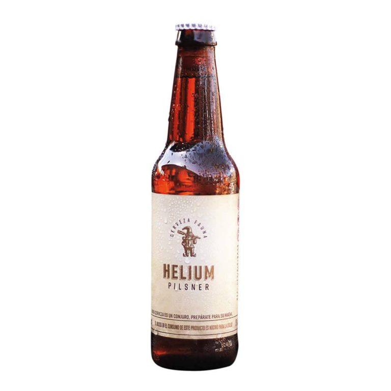 Cerveza fauna helium pilsner