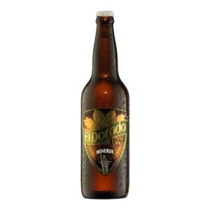 Cerveza minerva el dorado
