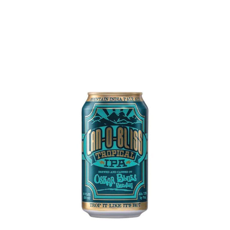 Cerveza oscar blues can o bliss tropical ipa lata