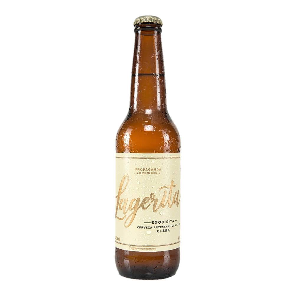 Cerveza propaganda lagerita clara