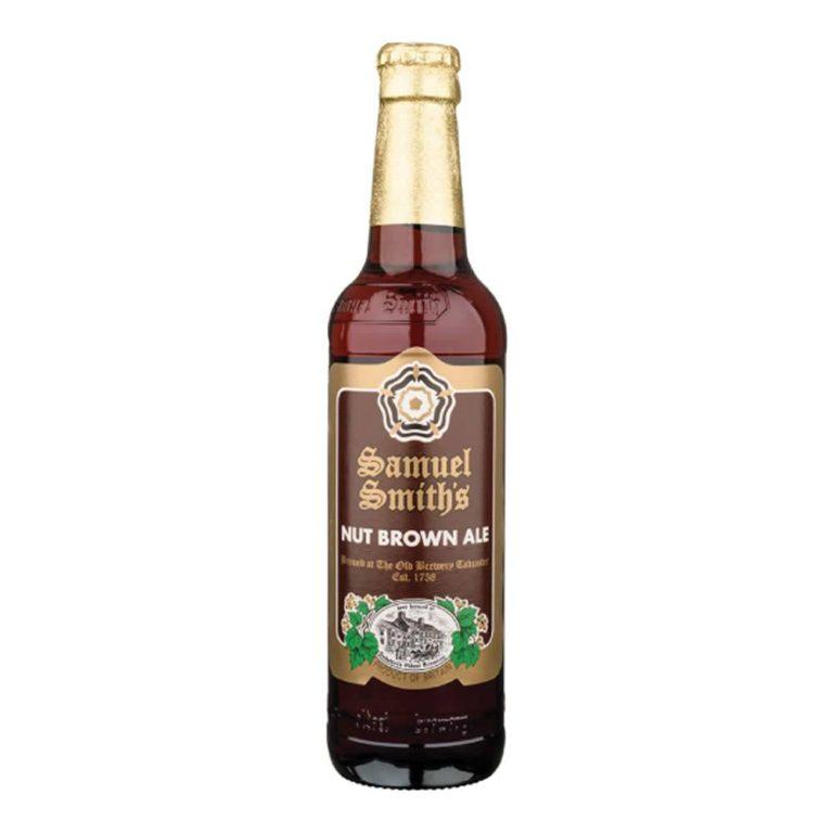 Cerveza samuel smiths nut brown ale