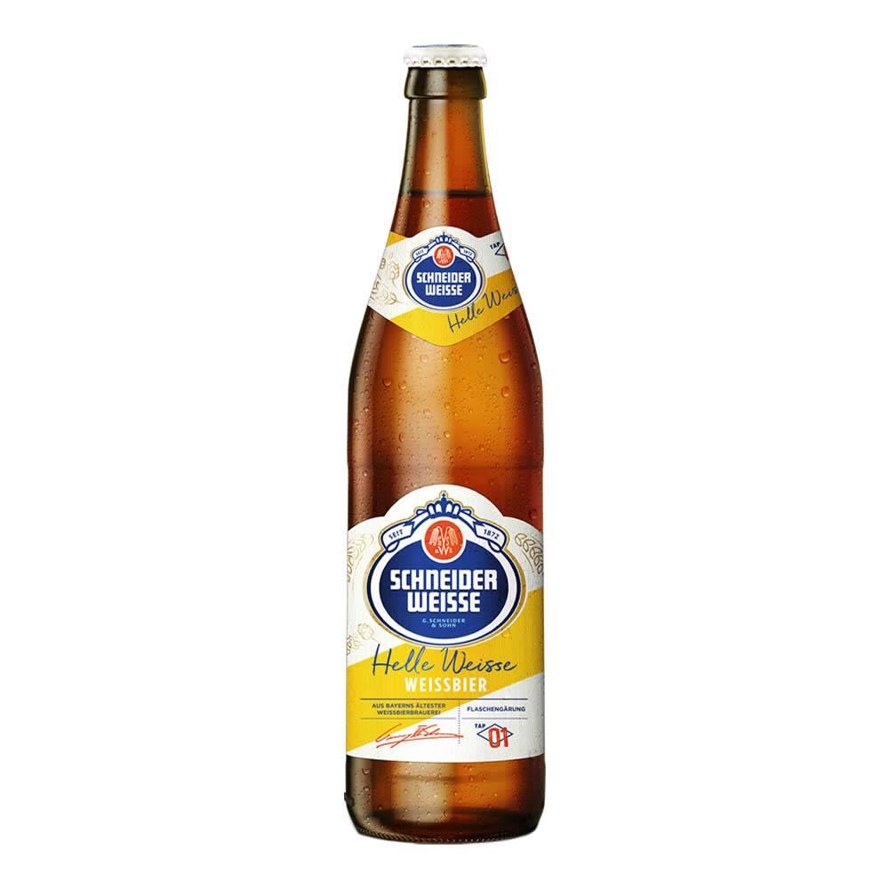 Cerveza schneider weisse tap1