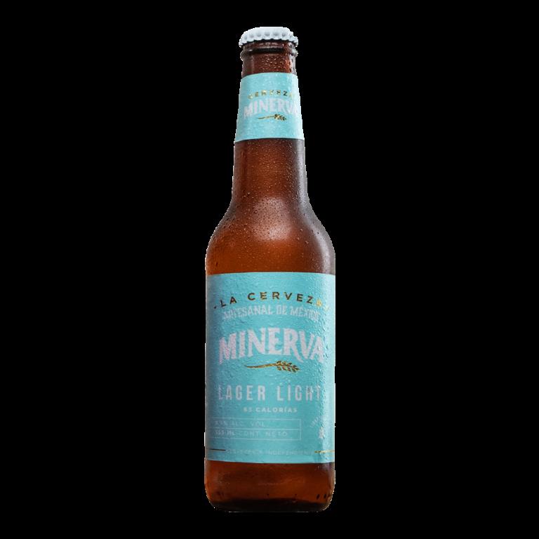 Cerveza Minerva Lager Light