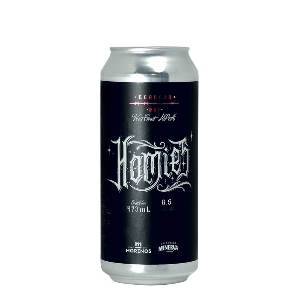 Cerveza Minerva Homies