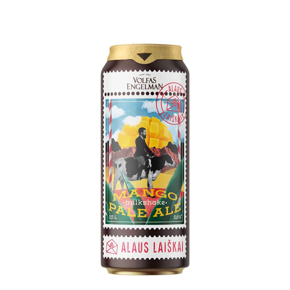 Cerveza Volfas Engelman Milkshake Mango